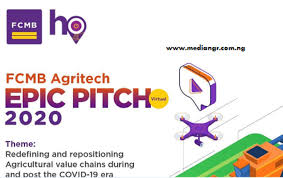 Photo of Agritech Epic Pitch and Conference 2020 at FCMB