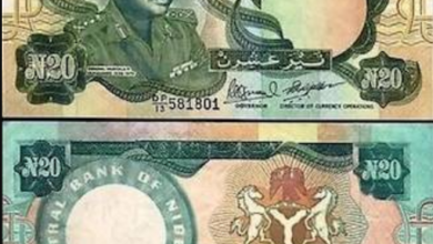 Photo of Check Out Nigeria Currency From The Past